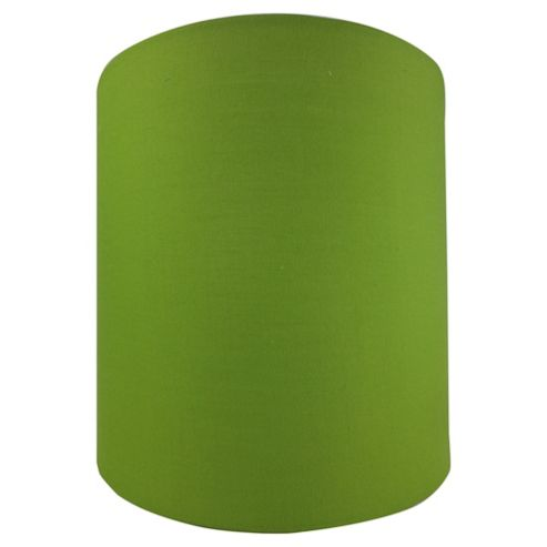 Tesco Lighting Drum Shade 22X22cm, Olive