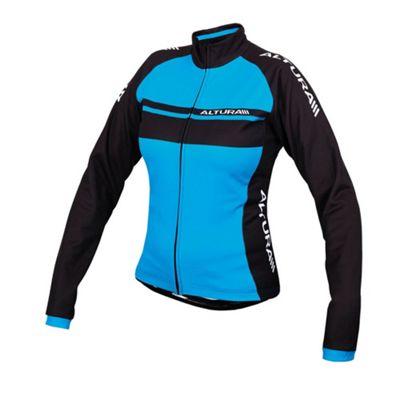 Altura Team Womens LS Cycling Jersey Blue Size: 12