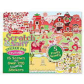 Melissa & Doug Scratch and Sniff Sticker Pad Age 4+