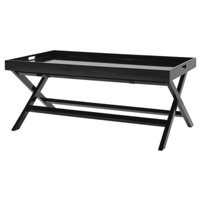 Butlers Tray Coffee Table Black