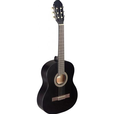 Stagg C430 3/4 Size Classical Guitar - Black