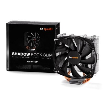 be quiet! Shadow Rock Slim BK010 Cooling Fan/Heatsink