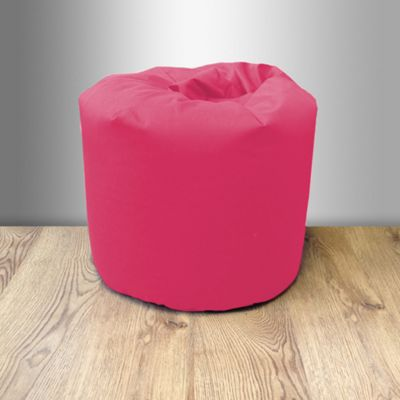 Children's 100% Cotton Twill Pre-Filled Bean Bag - Hot Pink