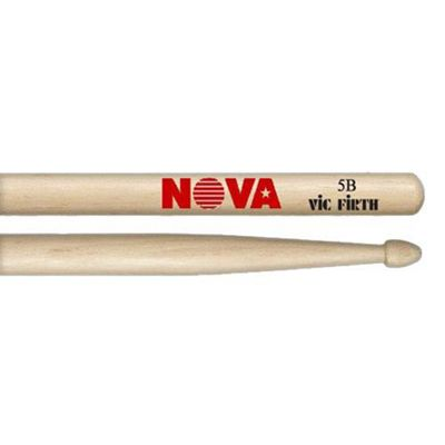 Vic Firth Drum Sticks - 5B Nova Drumsticks