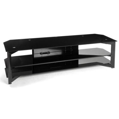 Atacama TV stand in Satin Black for TVs up to 60 inch