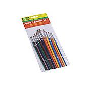 Rodo Ffjabs02 Artist Brush Set 12Pce