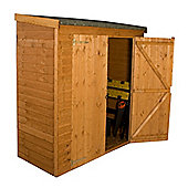 "6 x 2' 6 "" Sutton Overlap Pent Storage Shed Garden Wooden Shed 6ft x 2ft 6"" (1.83m x 0.76m)"