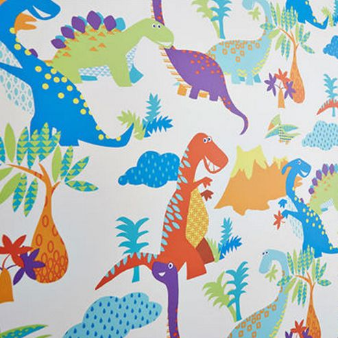 Dinoroar, Kids Bedroom Wallpaper