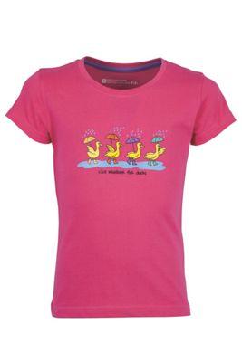 Nice Weather For Ducks Kids Boys Girls Tee-Shirt 100% Cotton T-Shirt