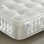 Happy Beds Signature Silver 1400 Pocket Sprung Orthopaedic Natural Fillings Mattress