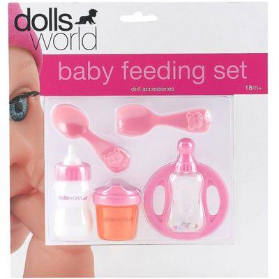 Dolls World Baby Feeding Set