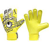 Uhlsport Eliminator Starter Soft Junior Goalkeeper Gloves - Yellow