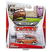 Disney Pixar Cars Diecast Cora Copper