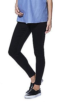 F&F Contour Over-Bump Skinny Maternity Jeans - Black