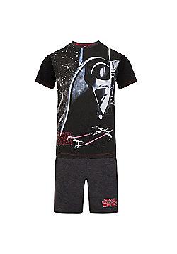 Star Wars Boys Short Pyjamas - Black