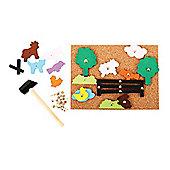 Bigjigs Toys Farm Pin-a-Shape