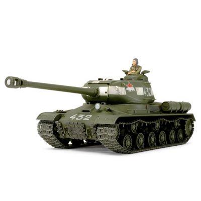 Russian Heavy Tank JS-2 Model 1944 ChKZ - 1:48 Scale Military 32571 - Tamiya
