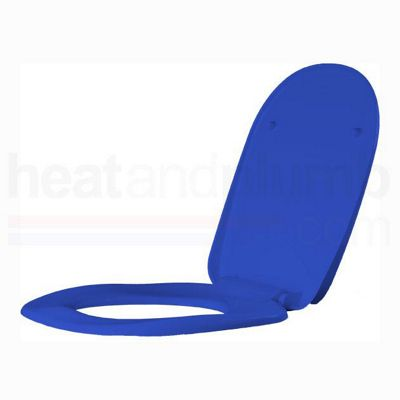 AKW Blue Ergonomic Toilet Seat including Cover
