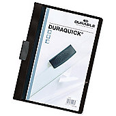 Durable Duraquick File A4 Black Pack of 20 2270/01