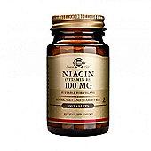 Solgar Niacin 100mg Tablets 100
