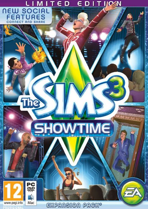 The Sims 3 Show Time Limited Edition