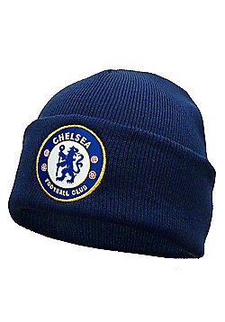 Chelsea FC Knitted Hat - Navy blue