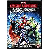 Avengers Confidential Dvd
