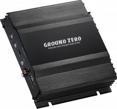 Ground Zero Titanium 4125X-24V 4 Channel Amplifier