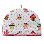 Homescapes Tea Cosy Double Design Cup Cakes Teapot Warmer