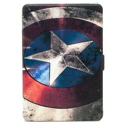 iPad Mini 1 / 2 / 3 TPU Captain America-esque Shield Slimline Case - Multi
