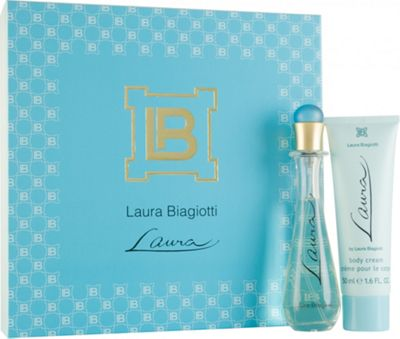 Laura Biagiotti Laura Gift Set 25ml EDT + 50ml Body Cream For Women