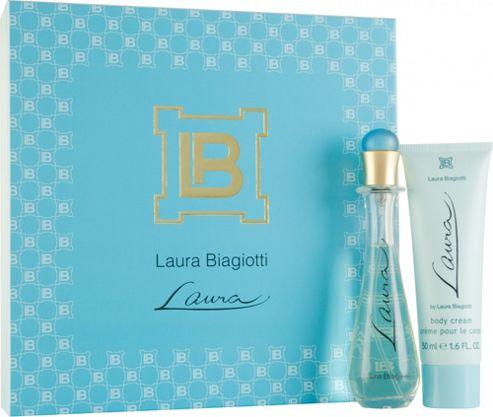 Laura Biagiotti Laura Gift Set 25ml EDT + 50ml Body Cream For Women