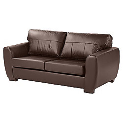 Ernest Large 3 Seater Sofa, Chocolate