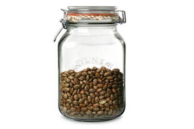 Kilner Square Clip Top 2L Jar