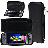 Navitech Black Premium Compact Travel Hard Carry Case For The Nintendo Switch