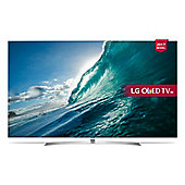 LG OLEDB7V  Inch 4K Ultra HD Smart OLED TV with Freeview Play - Silver