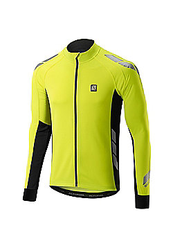 Altura Night Vision Commuter Long Sleeve Cycling Jersey Hi Vis - Yellow & Black
