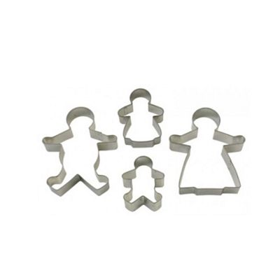 Gingerbread family cutters