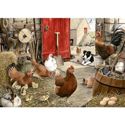 Hen Friends Puzzle
