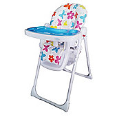 Bebe Style HiLo Burst Multi Function Reclining Highchair - Flowers