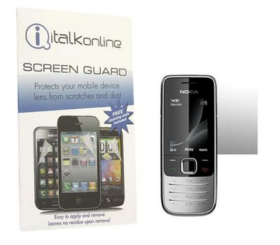 iTALKonline S-Protect LCD Screen Protector and Micro Fibre Cleaning Cloth - For Nokia 2730