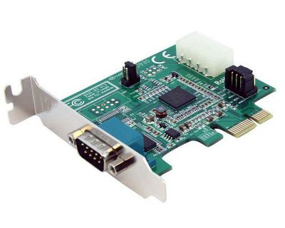 Low Profile Native PCI Express Serial Card w/ 16950