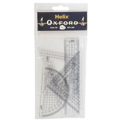 Oxford 4 Piece Geometry Set
