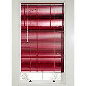 Hamilton McBride Aluminium Venetian Blind Red - 60x160cm