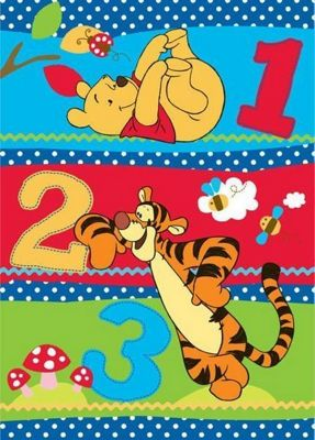 Buy Winnie The Pooh Large Rug 123 From Our Rugs Range