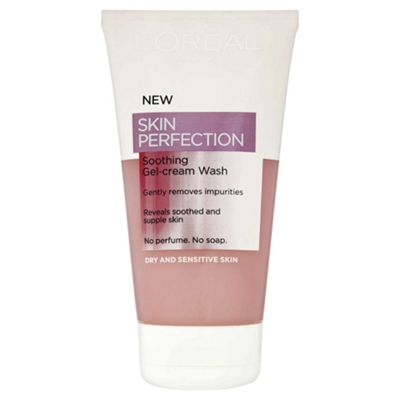 L'Oreal Paris Skin Perfection Soothing Gel Crm Wash 150ml