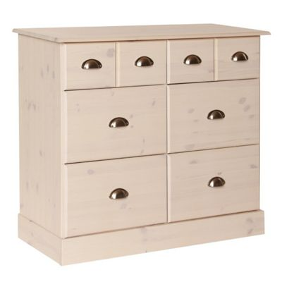 Terra 4+2 Deep Drawers In Pine/White