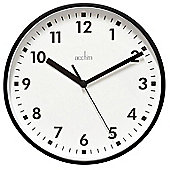 Acctim Wickford Round Wall Clock - Black