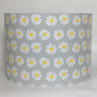 Daisies, Bluebell Woods Large Fabric Light Shade