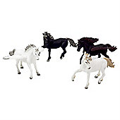 Mythical 4pc Unicorn and Pegasus Figurine Toy Set by Animal Planet